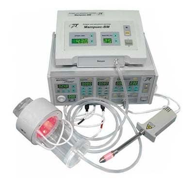 Апарат лазерної терапії «Матрикс-ВМ».
