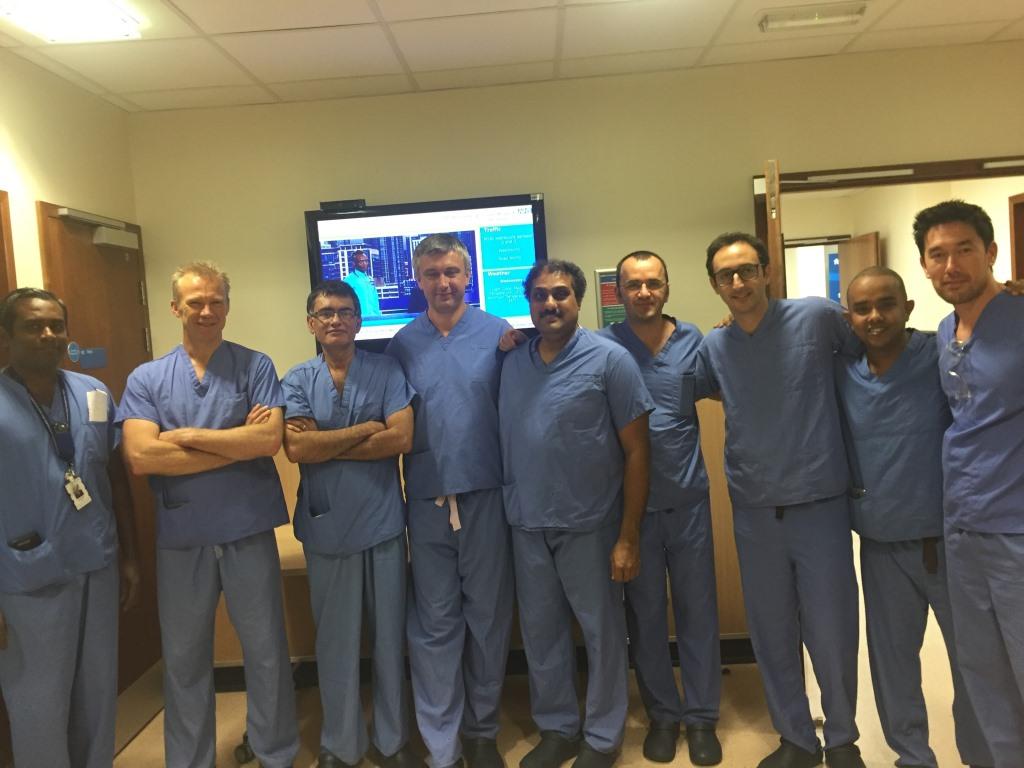 Навчальний тренінг лікаря Матвіїва В. у N.S.T.C. PCNL.