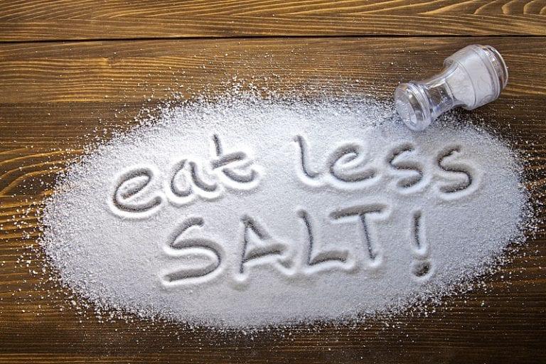 Їжте менше солі.