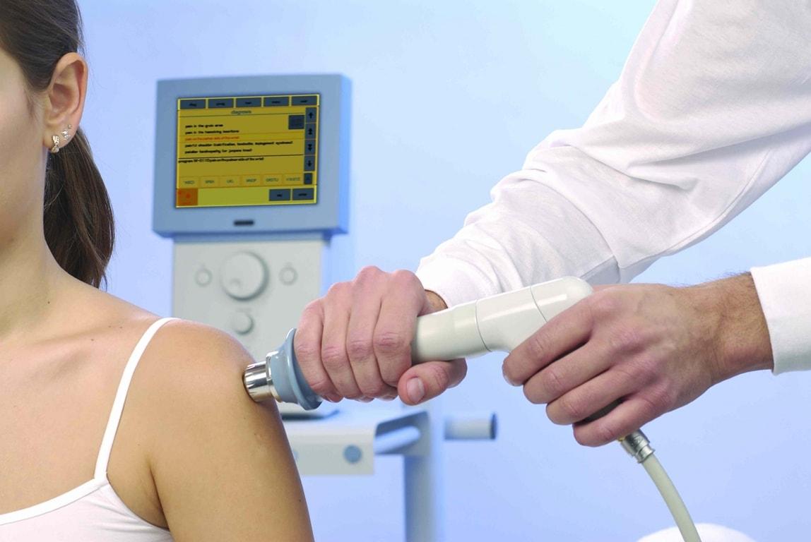 Застосування ударно-хвильової терапії в медицині.