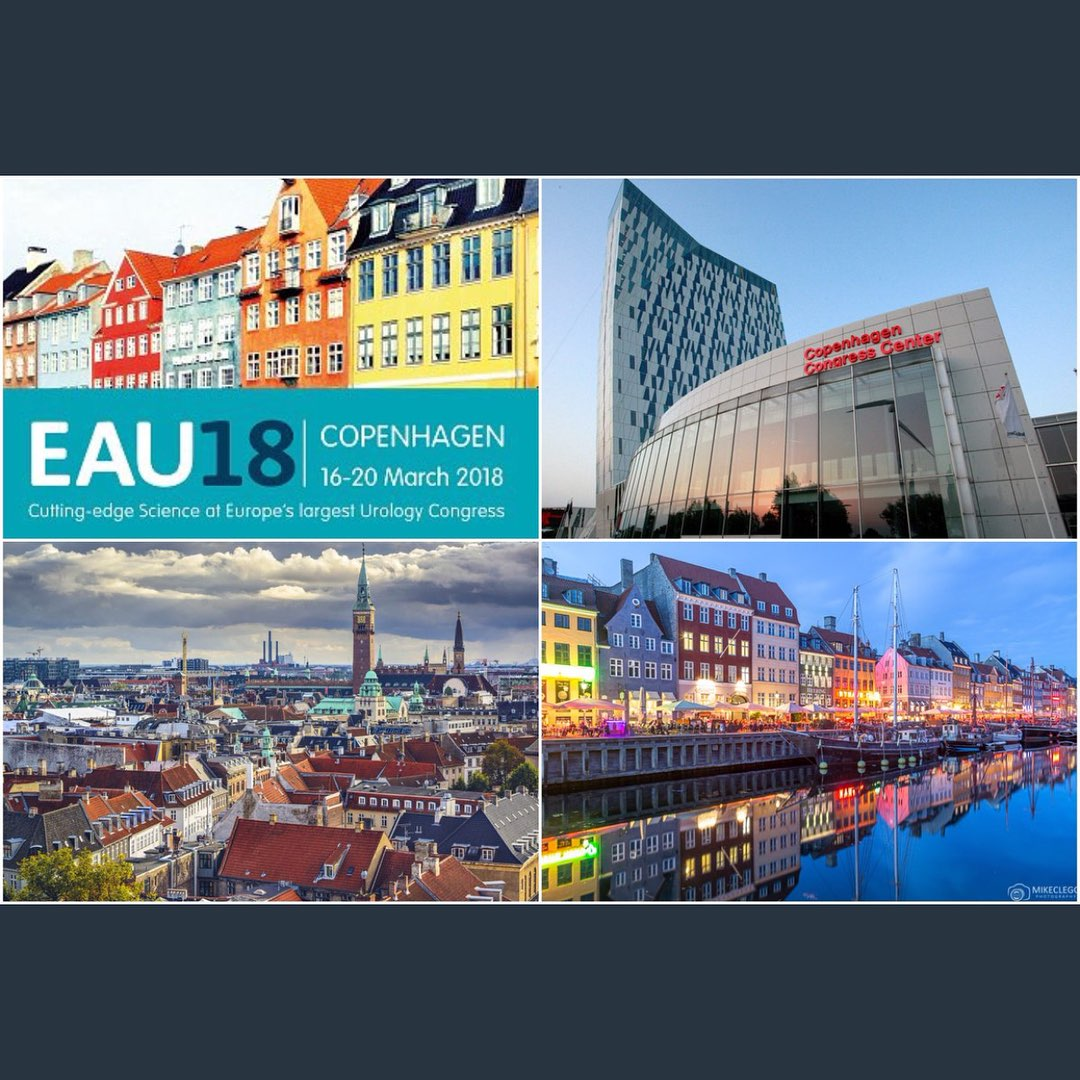 EAU18 Copenhagen 16-18 March 2018.