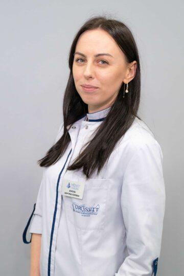 Король Марьяна Игоревна Специалист с экстракорпоральной ударноволновой литотрипсии.